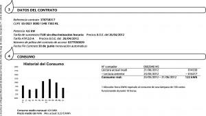 Cambio de titular contrato de luz en Córdoba